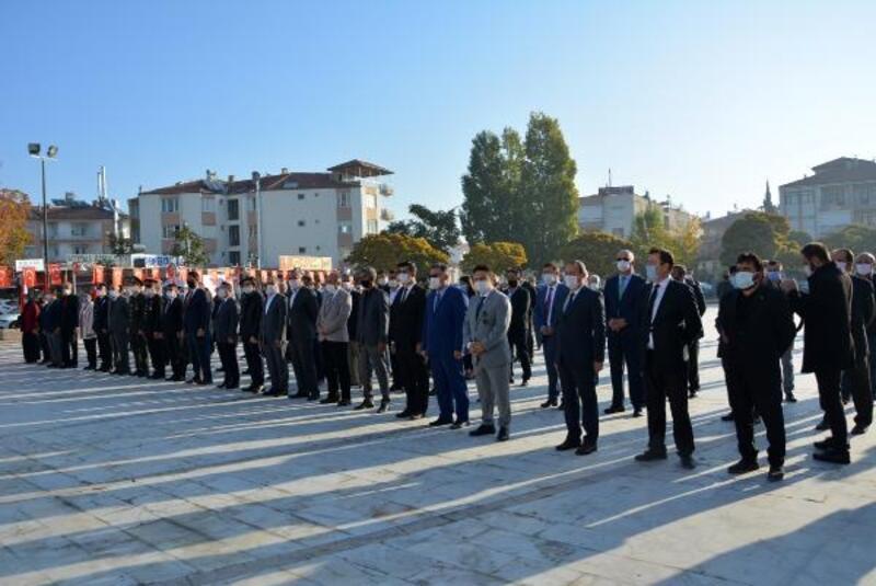 Atatürk Korkuteli'de anıldı