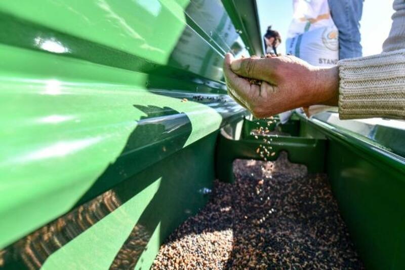 AOÇ arazisindeki ürünler, çiftçiye hibe dağıtılacak