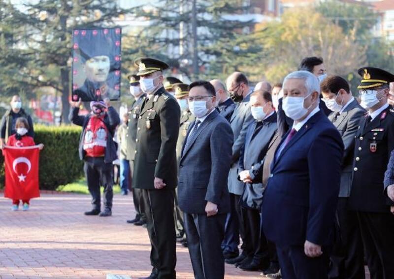 Afyonkarahisar'da Atatürk'ü anma töreni