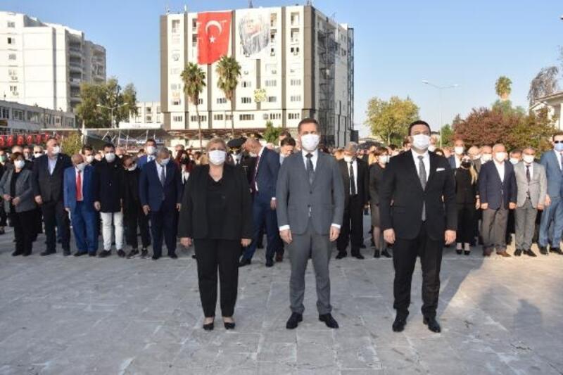 Ceyhan'da Mustafa Kemal Atatürk anıldı