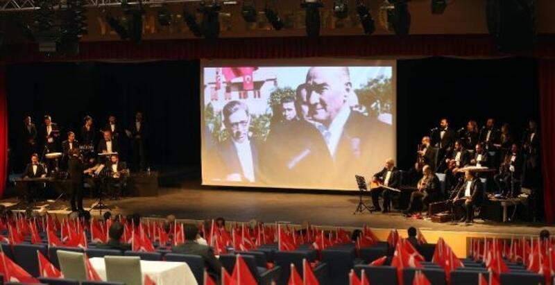Atatürk'ün sevdiği şarkılar Yenimahalle'de yankılandı