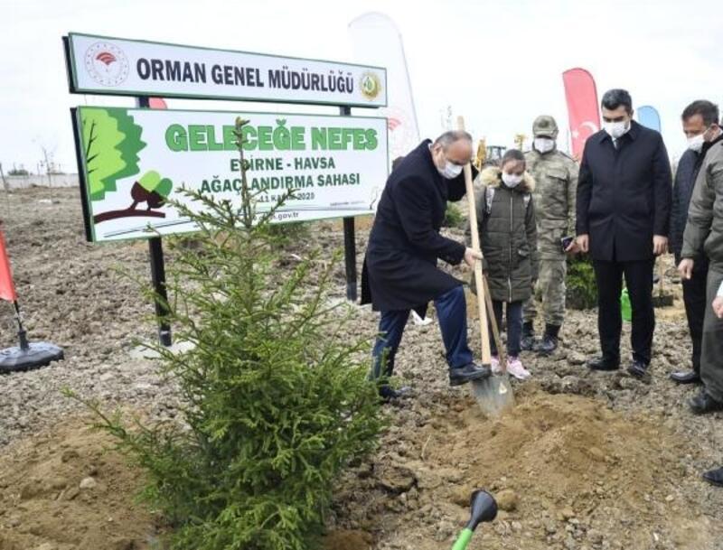 Vali Canalp: İlimizde orman varlığını arttırıyoruz