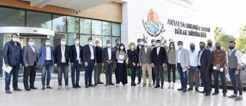 İş insanlarından Antalya OSB'ye ziyaret