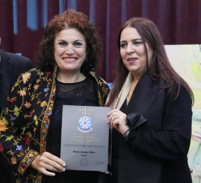 Priştine'de Antalya'yı temsil etti