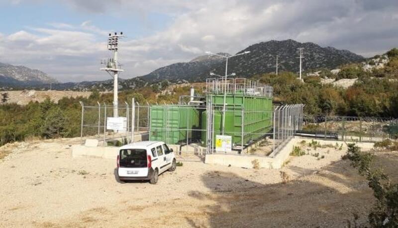 İbradı'da 2. paket arıtma tesisi faaliyete geçti