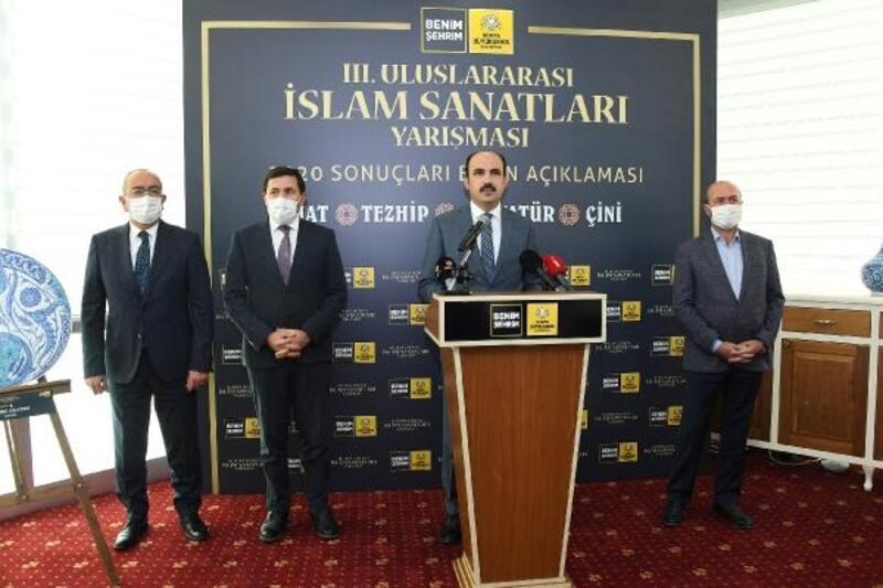3'üncü Uluslararası İslam Sanatları Yarışması'nın kazananları belli oldu