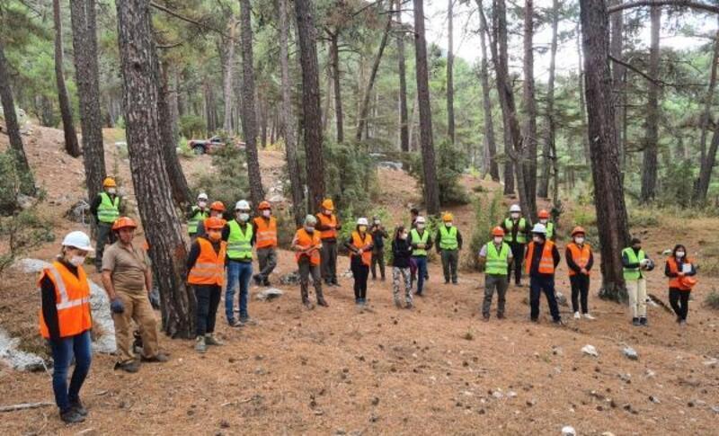 Ormancılara uygulamalı seminer