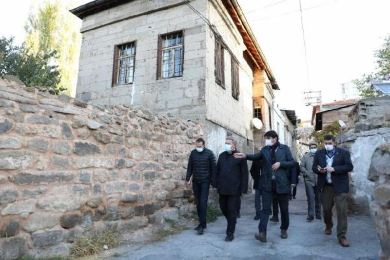 Başkan Palancıoğlu, Germir Mahallesinde inceleme yaptı
