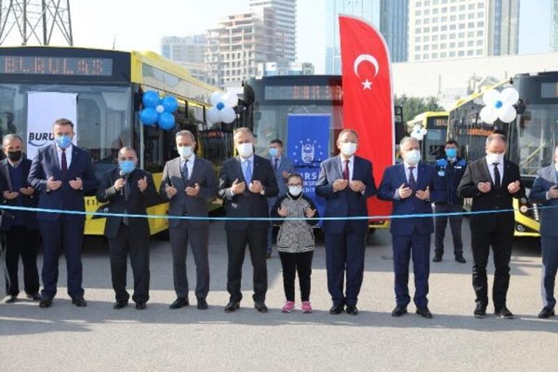 Bursa'da ulaşım filosu gençleşerek büyüyor
