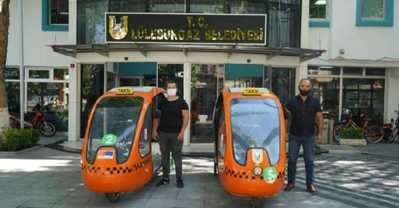 Lüleburgaz'da bisiklet taksiler Mayıs ayına kadar çalışmayacak