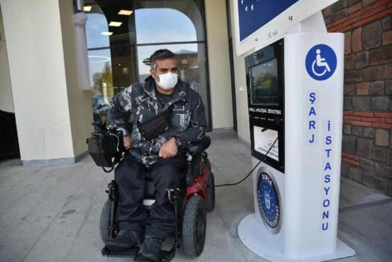 Bursa'da akülü tekerlekli sandalyelerin şarj ünite sayısı arttırıldı