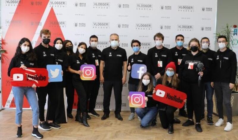 Vlogger Akademi ile Bursa'nın tanıtımı için gençler yetiştiriliyor