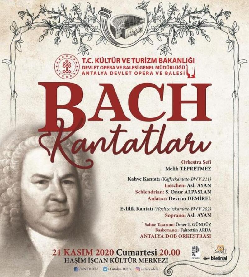 'Bach Kantatları' sahnede