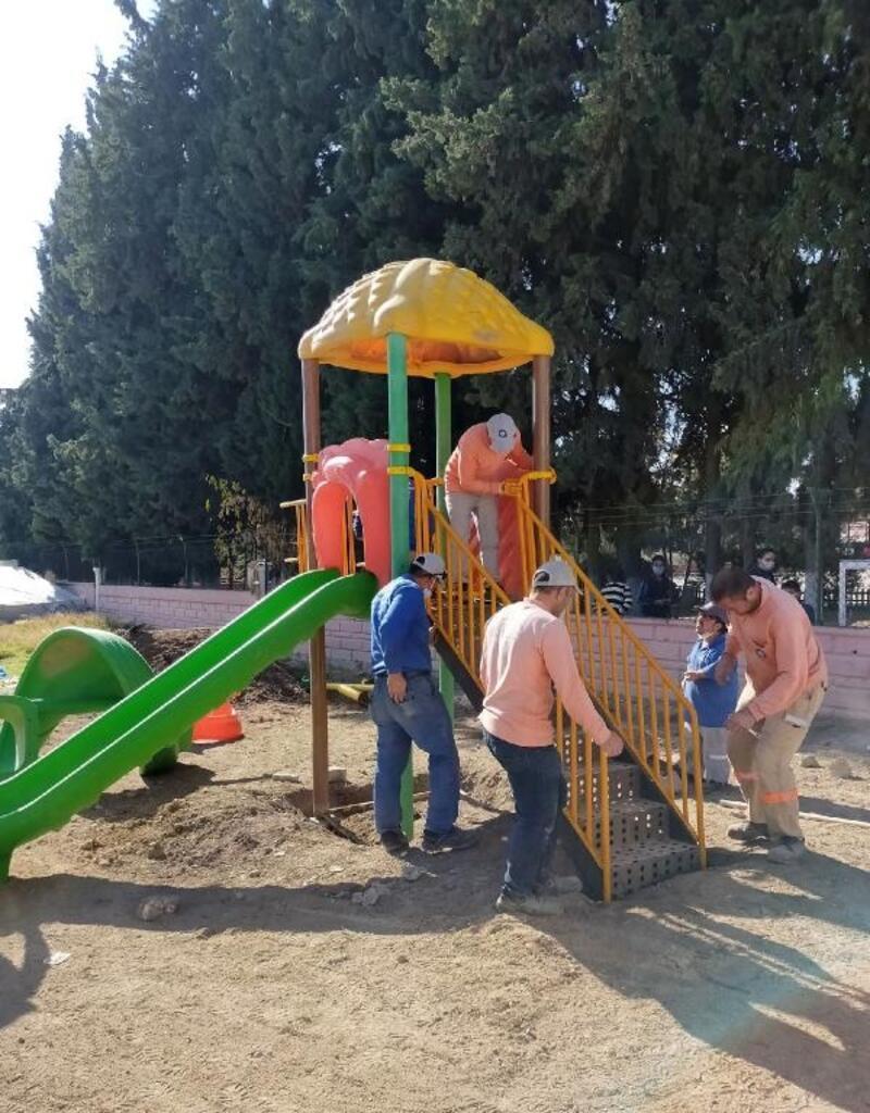 Büyükşehir'den Büyükköy Mahallesi'ne oyun parkı