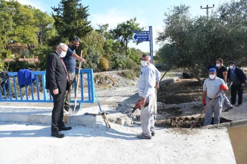 Tekirova'da köprü çalışması tamamlandı