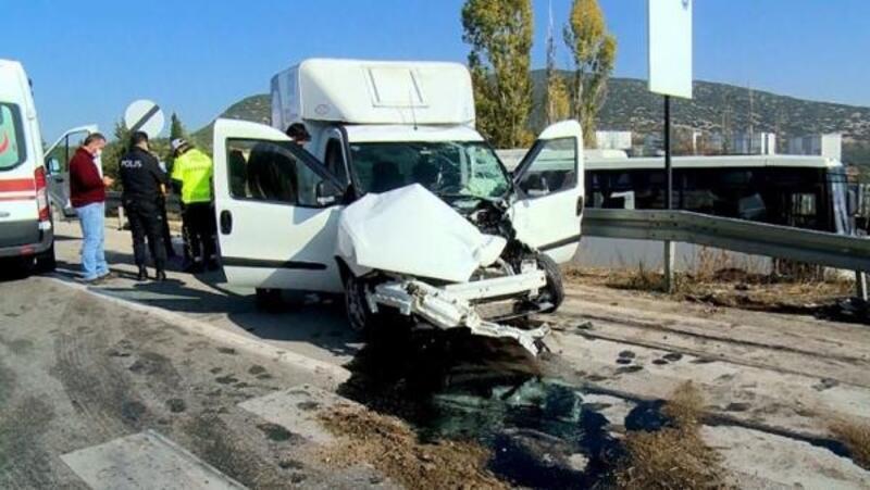 Isparta'da kaza: 1 yaralı