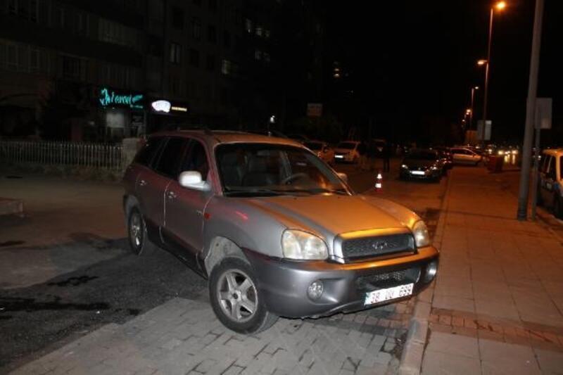 Kayseri'de iş insanını yaralayan şüpheli yakalandı
