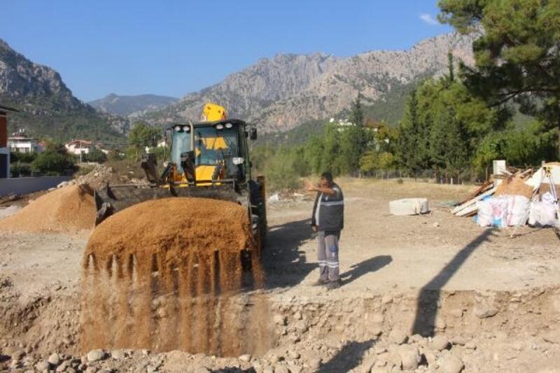 Göynük'e kanalizasyon hattı