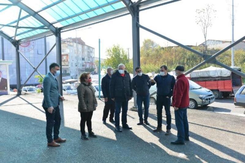 Süleymanpaşa'nın ilk kapalı pazaryeri yükseliyor