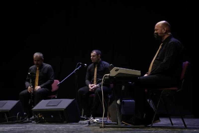 Ahıska Grup Hazar, Tayyare Kültür Merkezi'nde konser verdi
