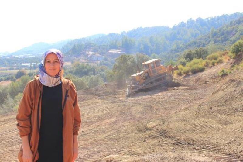 Kumluca Ortaköy Mezarlığı'nda ek saha çalışması