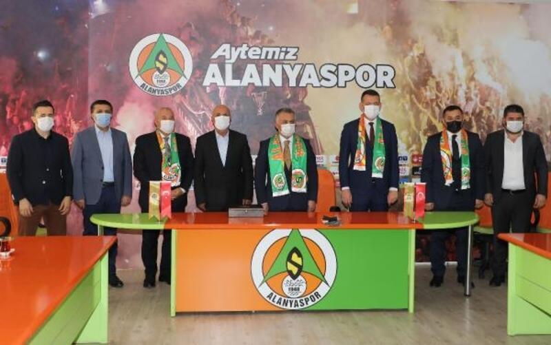 Vali Yazıcı'dan Alanyaspor'a ziyaret