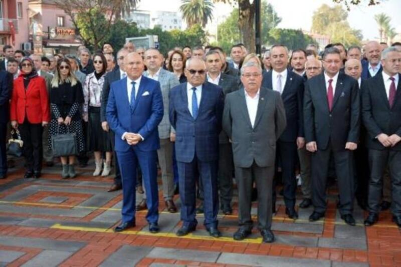 Nazilli'de 24 Kasım Öğretmenler Günü kutlandı