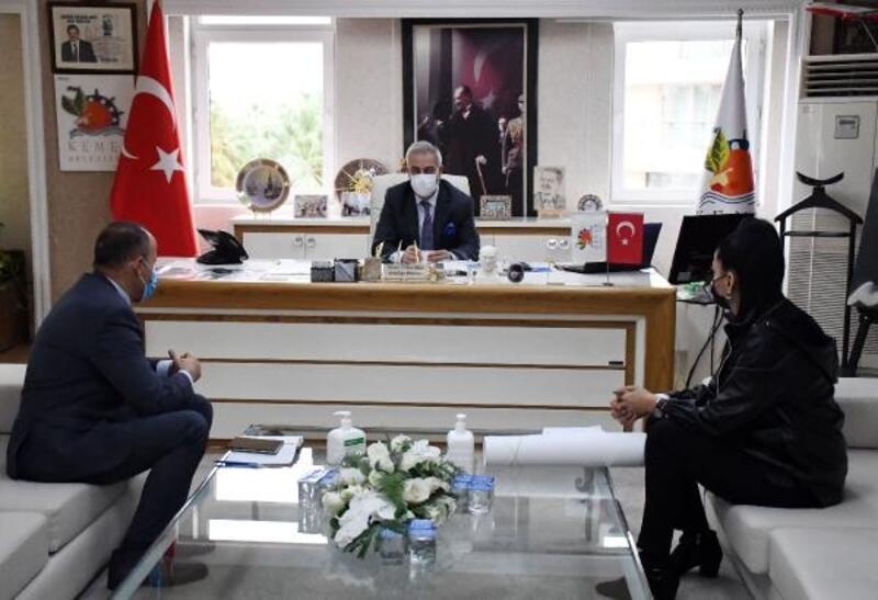 Kızılay'dan Kemer Belediyesi'ne ziyaret