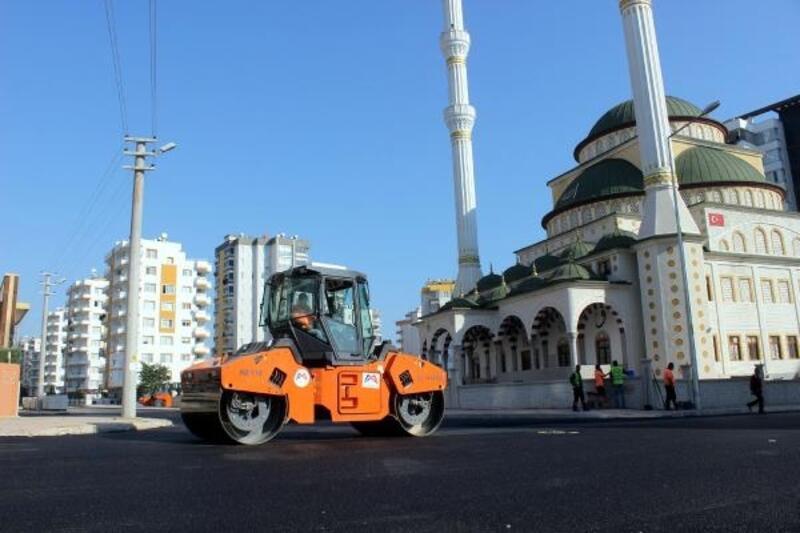 Mersin'de asfalt atağı