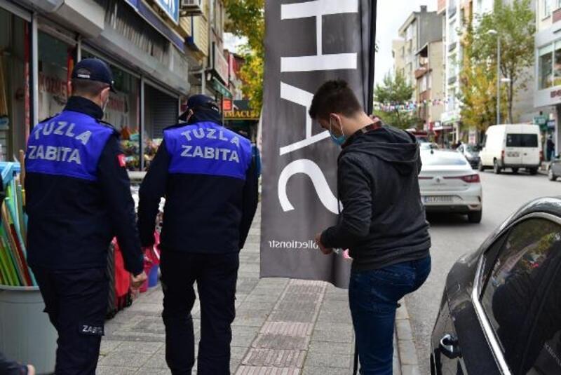 Kısıtlamalar başlamadan önce Tuzla'da denetimler yapıldı