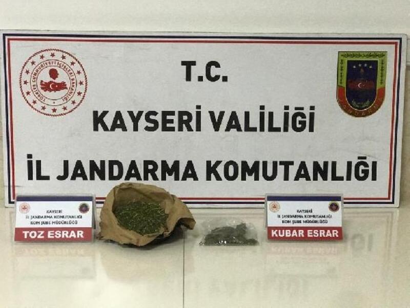 Kayseri'de uyuşturucuya 1 gözaltı