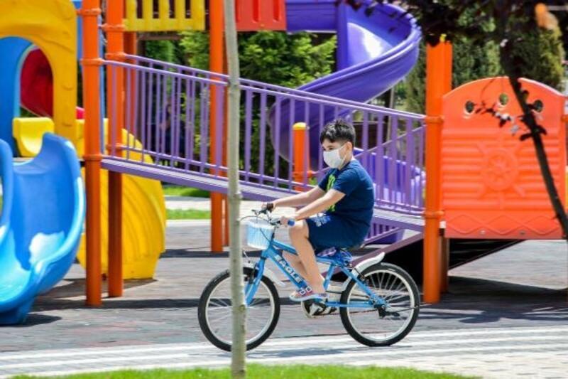 Meram'a 15 park daha kazandırıldı
