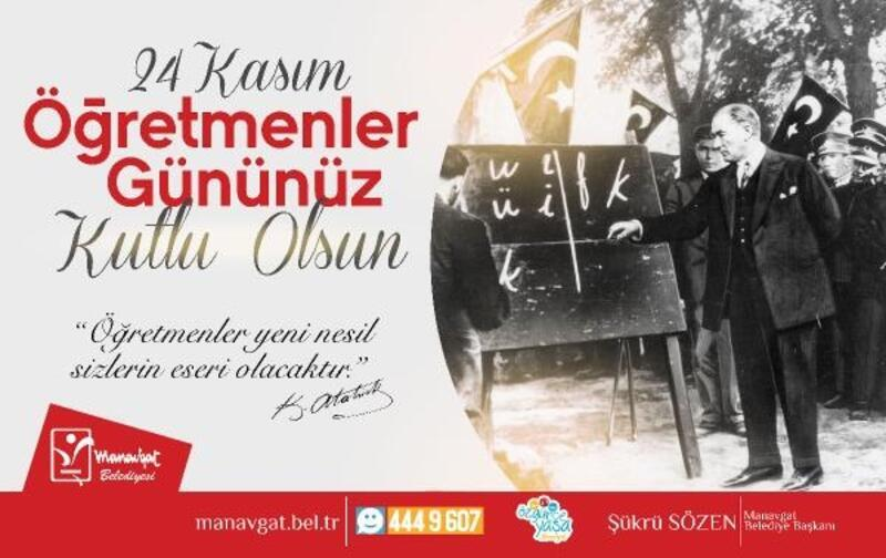 Başkan Sözen'den Öğretmenler Günü mesajı