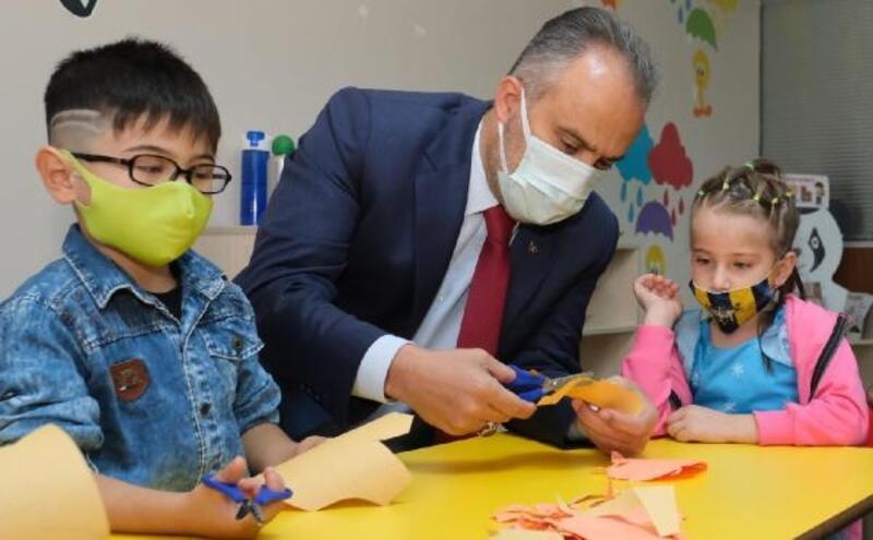 Bursa'da Ana Kucağı Eğitim Merkezleri'nin sayısı artıyor