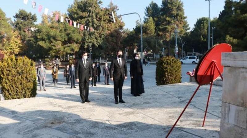 Burdur'da 24 Kasım töreni