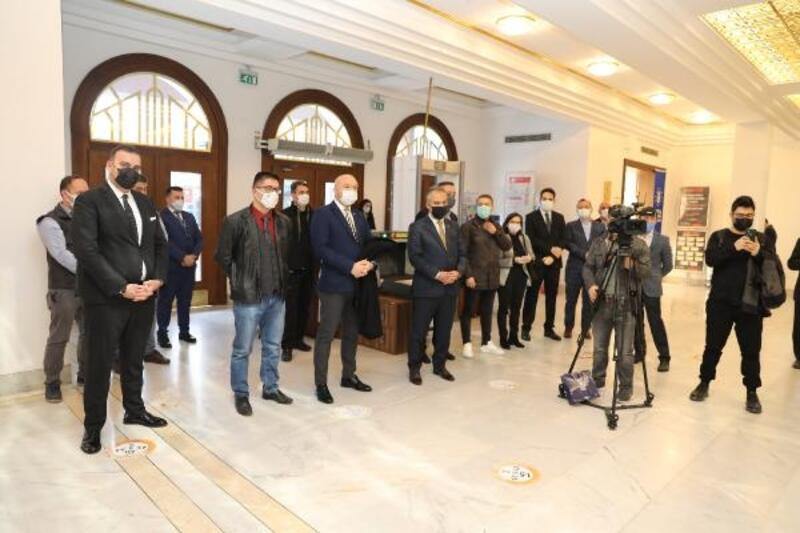 Bursa'da 'Mars 2050' sergisi açıldı