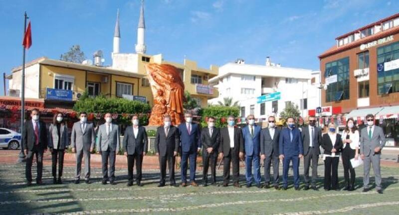 Gazipaşa'da Öğretmenler Günü kutlandı