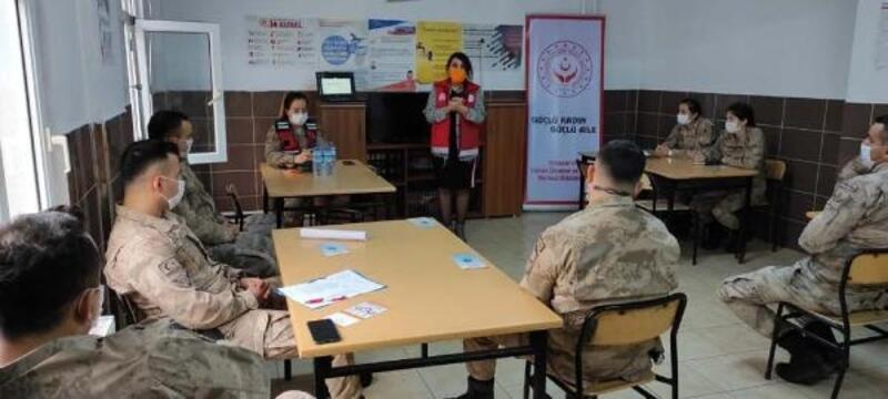 Jandarma personeline 'kadına yönelik şiddetle mücadele' eğitimi