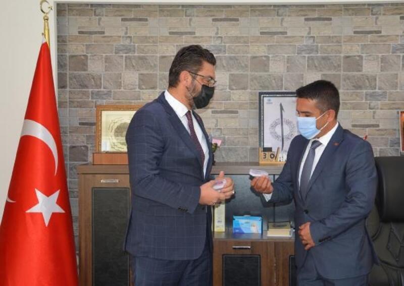 Başkan İşlek'ten Milli Eğitim Müdürü Tak'a ziyaret