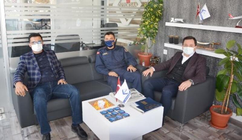 Kılınç'tan Sancaktar'a iadeyi ziyaret