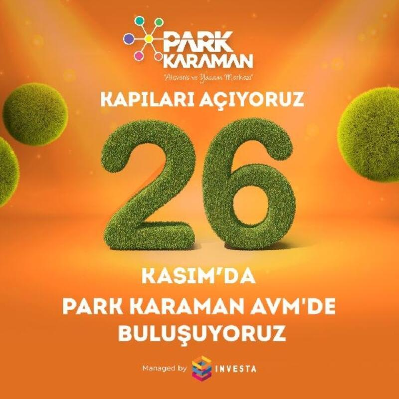 Karaman'ın ilk alışveriş ve yaşam merkezi yarın açılıyor