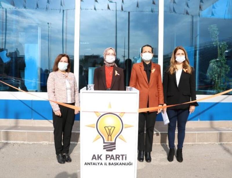 AK Partili kadınlardan şiddete tepki