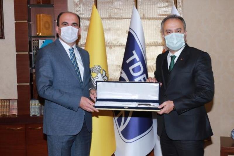 Bursa Büyükşehir Belediye Başkanı Aktaş, Konya'yı ziyaret etti