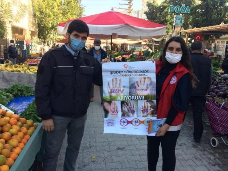 Vatandaşlar, aile içi şiddet konusunda bilgilendirildi
