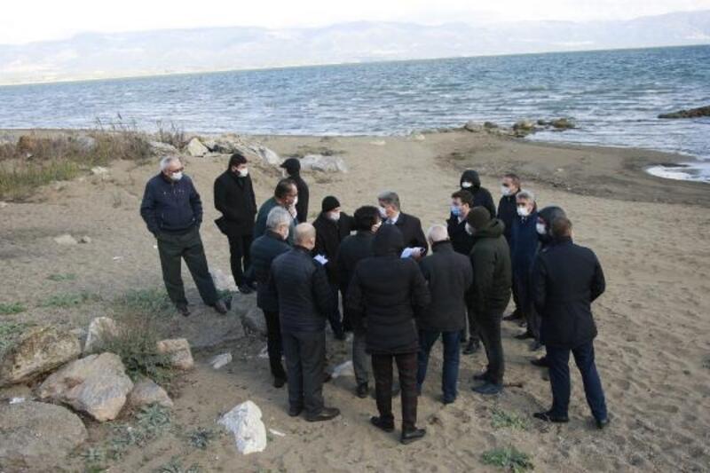 Çevre ve Sağlık Komisyonu'ndan İznik Gölü'nde inceleme