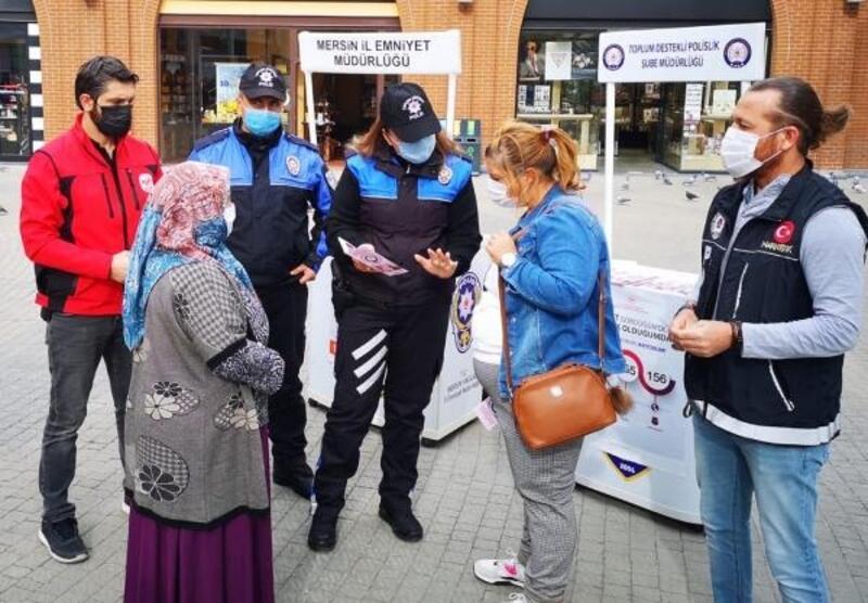 Mersin polisi KADES'i tanıttı