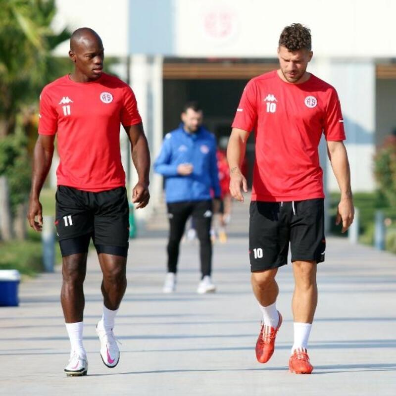 Antalyaspor'da forvetler suskun