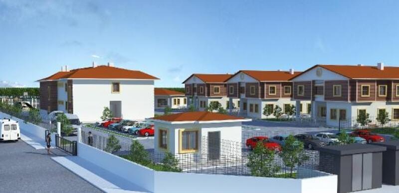 Aksaray'da sevgi evlerinin projesi tamamlandı