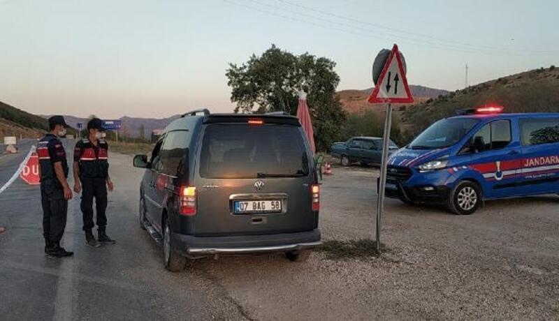 Burdur'da iki köy karantinaya alındı