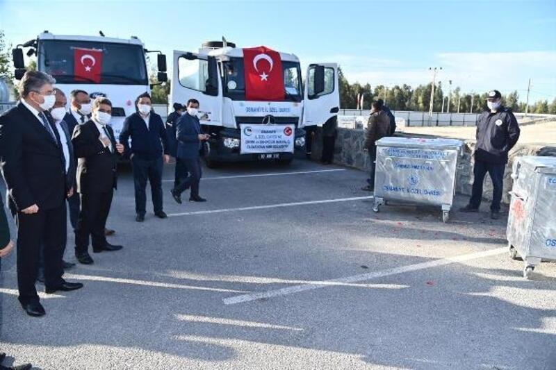 Çevre ve Şehircilik Bakanlığı'ndan Osmaniye İl Özel İdaresi'ne destek
